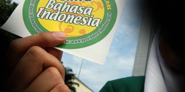 bahasa indonesia yg benar
