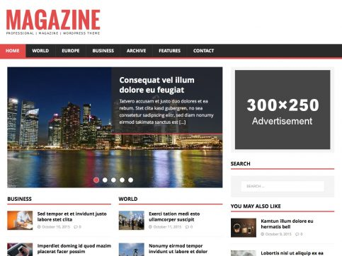 MH News Magazine WP Theme