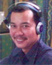 romel tea penyiar radio
