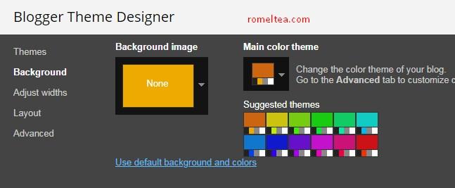 blogger theme designer