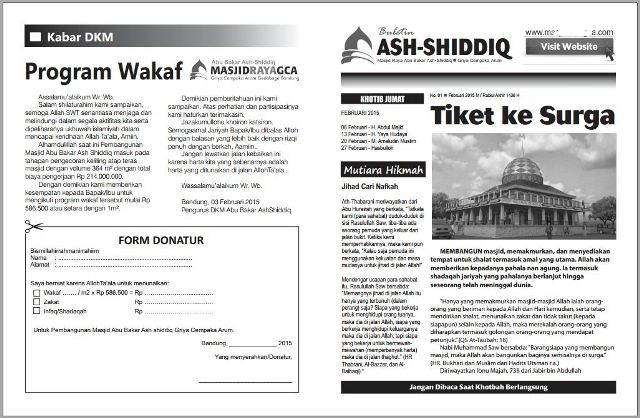 contoh-buletin dakwah masjid jumat