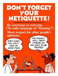 Etika Komunikasi di Internet – Netiquette