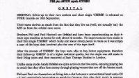 contoh press release