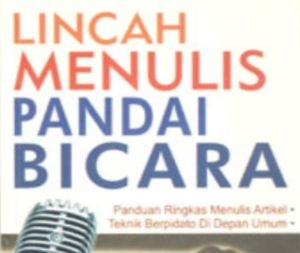 "Materi ""3 in 1"" Jurnalistik, Public Speaking, Media Online"