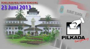 Pilwalkot Bandung 2013