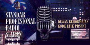 standar profesional radio siaran