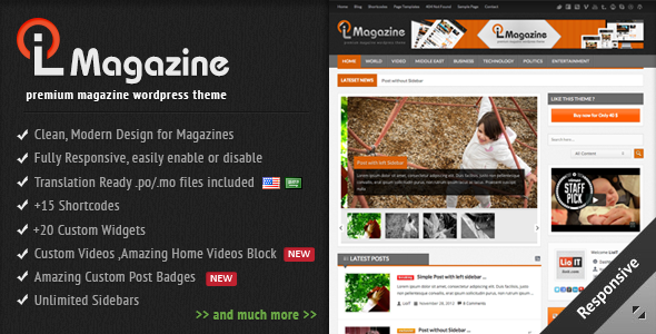 LioMagazine WordPress Theme