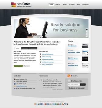 Tema WordPress Keren untuk Website Instansi/Perusahaan