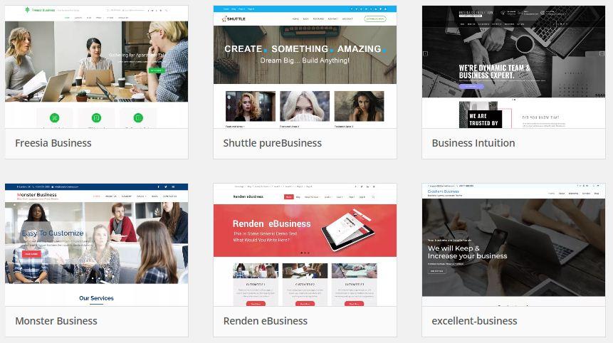tema wp web bisnis