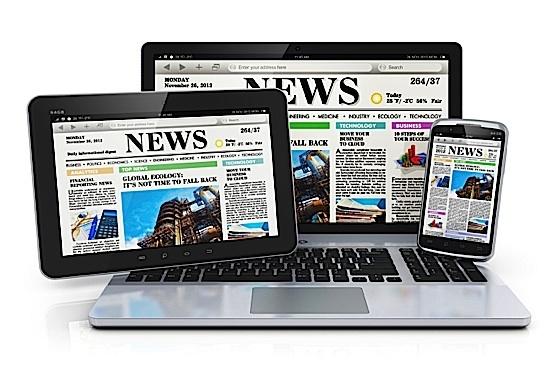 template blog portal berita