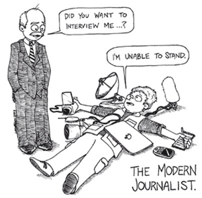 Syarat Menjadi Wartawan