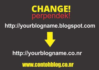 """Cara Menghilangkan Kata """"blogspot.com"""" di Alamat Blog"""