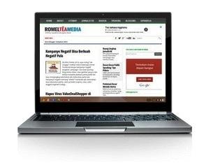 Romeltea.com sering error, saya bikin romelteamedia.com