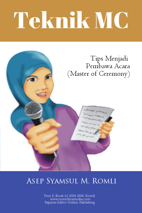 Teknik MC – Tips Menjadi Pembawa Acara (e-Book)