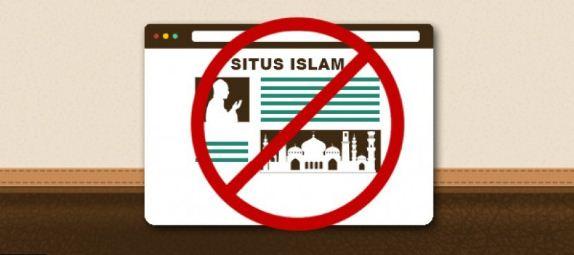 situs islam blokir