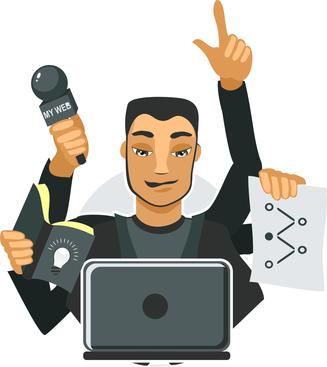 reporter-laptop-mic