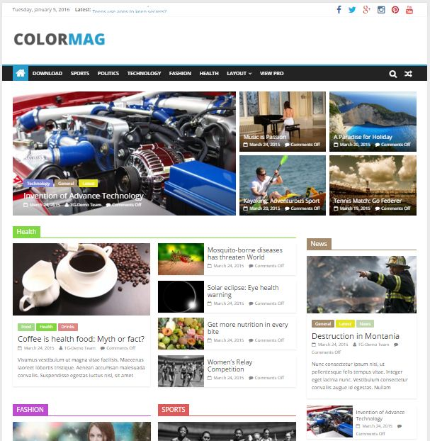 Tema WordPress Paling Ringan dan SEO Friendly