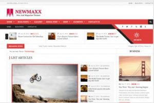 NewsMaxx WP Theme Free