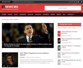 NewsMix WP Theme Free