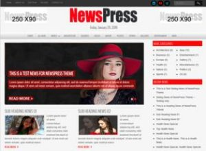 NewsPress WP Theme Free