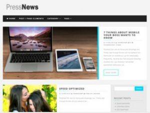 PressNews WP Theme Free