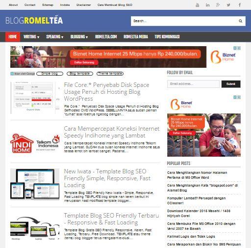 blogromeltea-template-simple-responsive