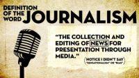 definisi jurnalistik