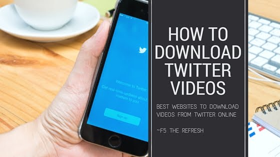 Cara Download Video Twitter, Facebook, Youtube, Instagram