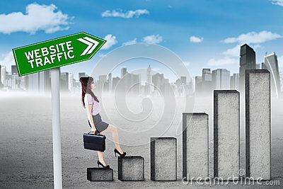 website blog traffic