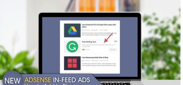 Cara Memasang Iklan In-Feed Ads di WordPress dan Blogger