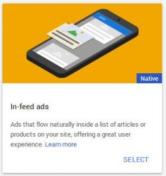 in-feed ads google adsense