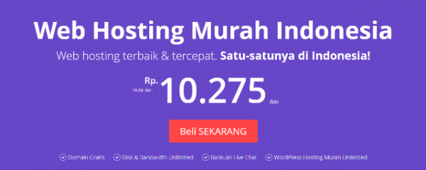 Web Hosting Murah Indonesia