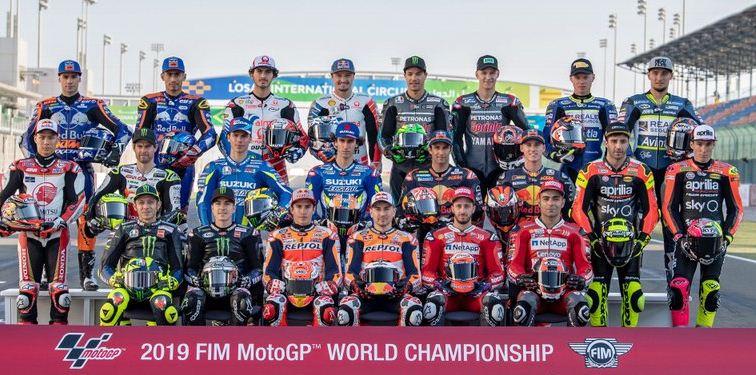 Daftar Pebalap MotoGP 2019