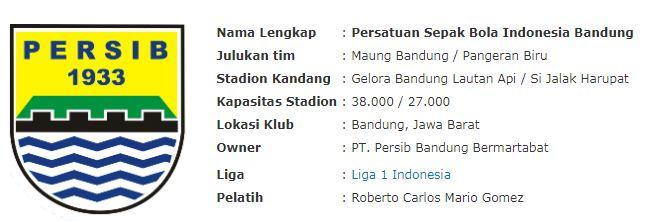 Profil Persib Bandung