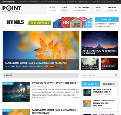 point-wp-theme-free