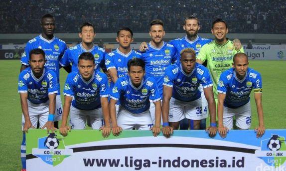 line-up Persib Bandung Liga 1 2018