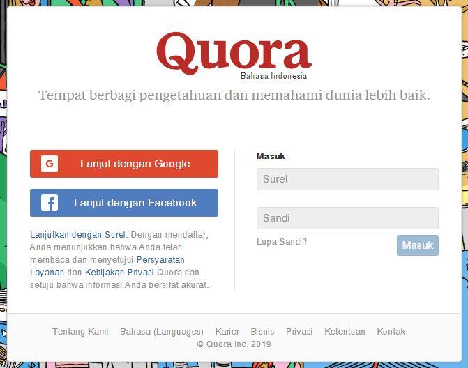 login-quora