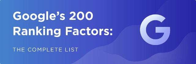 200 faktor seo