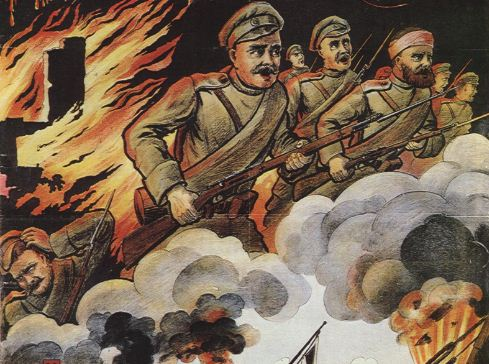 The Art Of War: Russian Propaganda In WWI