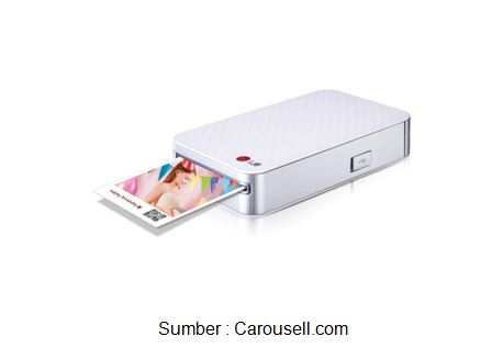 LG Pocket Photo Printer PD221