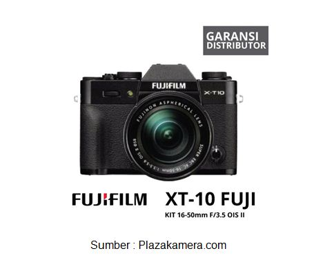 Fujifilm Mirrorless XT10