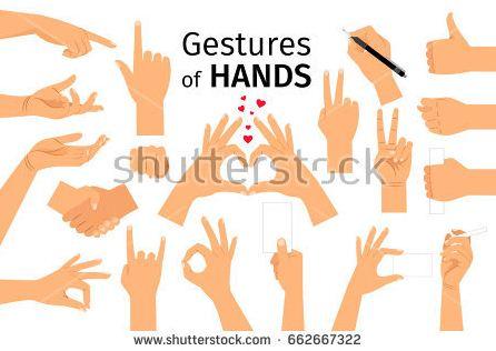 gestur tangan