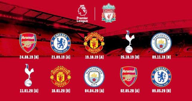 jadwal bigmatch liga inggris