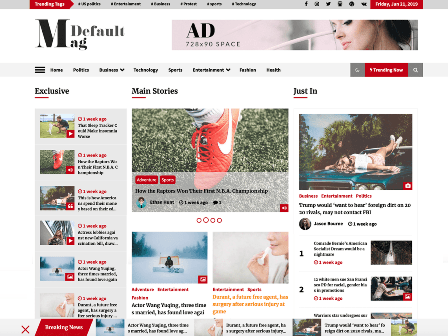 Default Mag - Best Free WP Themes