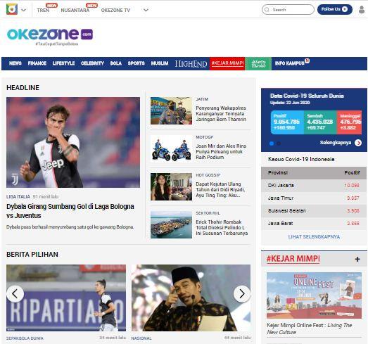 situs berita okezone