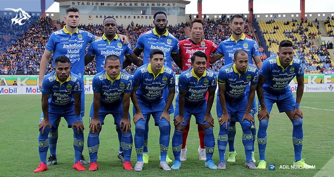 Line-up Persib Bandung 2020