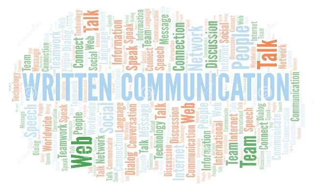 komunikasi tertulis